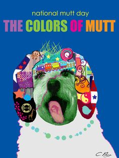 poster art for National Mutt Day - Dec 2nd