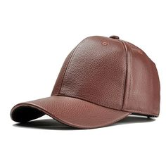 Description: Weight: 110 Gender: Unisex Style: Baseball Cap Material: Artificial Leather Occasion: Casual,Outdoor Color: As The Picture Shows Season:Spring,Summer, Autumn Size: One Size(Adjustable ,Fits Most) Hat - Package included: Leather Hats, Cowhide Leather, Pu Leather, Leather Baseball Cap, Baseball Hats, Vogue Vintage, Artificial Leather, Unisex Fashion, Retro