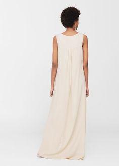 Sukienka z koronkową wstawką | MANGO