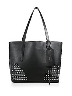 Jimmy Choo - Studded Leather Tote