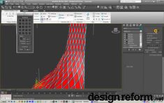 3ds Max 2010 Topology Tools on an Edit Poly Modifier Design Reform - YouTube