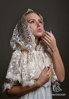 необычный платок для храма