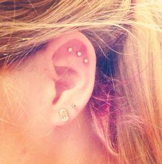 Latest piercings #sickcreations #cartilage #piercings