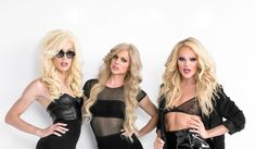 Blond bombshells: Alaska, Courtney Act and Willam