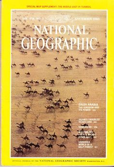 National Geographic Magazine September 1980 The Middle East In Turmoil With MAP National Geographic Cover, Adventure Aesthetic, Kelp Forest, 21st Century Fox, Undersea World, Science Articles, Print Magazine, Vintage Magazines, Poster On