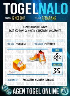 Keluaran 4D Togel Wap Online TogelNalo Semarang 12 Mei 2017