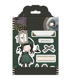 Add charming stamped images to handcrafted projects with the Santoro Gorjuss Rubber Stamps-Nightlight. These stamps feature adorable designs, apt for decorating a host of creations. Use them dress car