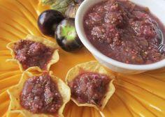 Salsa Violeta / Purple Tomatillo Salsa