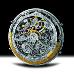 Vacheron C. - Caliber 1120 SQ. A skeletonized version of caliber 1120. Created in 1967 and still in use, one of the slimest automatics ever made with a thickness of only 2.45mm
