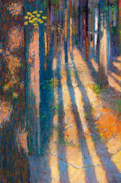original oil paintings and pastels from American artist Rick Stevens Rick Stevens, Artist Sketchbook, Impressionist Art, Impressionism, Oil Painting Abstract, Painting Art, Landscape Art, Oil On Canvas, Art Drawings