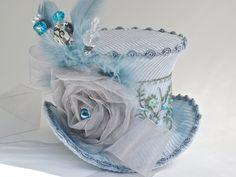 Blue Skies Mini Top Hat. $55.00, via Etsy.