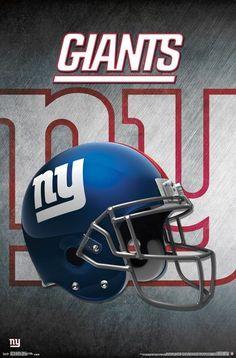 New York Giants Official NFL Football Team Helmet Logo Poster - Trends  International be50b8112