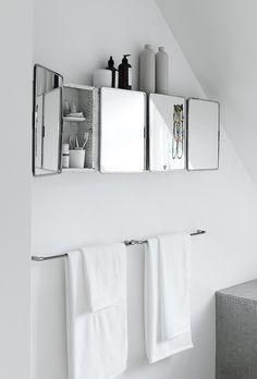 Easy & Creative Bathroom Mirror Ideas to Reflect Your Style Wc ideas Badkamer spiegel Vessel sink bathroom Gäste wc Badezimmer waschtisch Waschtisch diy White Bathroom, Modern Bathroom, Small Bathroom, Bad Inspiration, Bathroom Inspiration, Armoire Design, Led Shower Head, Up House, Bathroom Trends