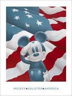 Mickey has resorts and theme parks around the world but he was born in the good ol' US of A!!