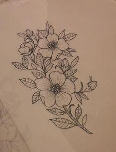 Arm tattoo, piercing tattoo, sleeve tattoos, tatoo, tattoo b Violet Flower Tattoos, Dogwood Flower Tattoos, Violet Tattoo, Flower Tattoo On Side, Wild Rose Tattoo, Piercing Tattoo, Arm Tattoo, Sleeve Tattoos, Piercings