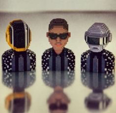 Daft Punk has been BLOXED ! Lose yourself to dance !
