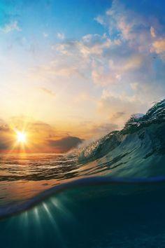 it feels like an ocean of possibilities when the sun rises :)