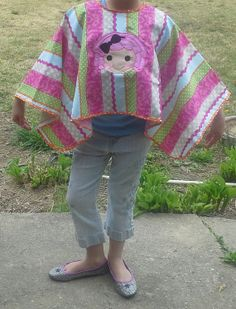 Pageant Makeup Cape with La La Loopsy by Pageantblingnthings, $28.00