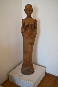 Kovács Margit. Szégyenlős Mária (1935) - bewri Pepper Grinder, Museum, Marvel, Museums