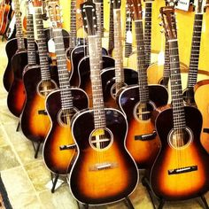 Eastman Guitars Sunburst collection. Just the thing to brighten up a cloudy day.