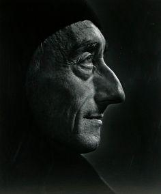 Jacques Cousteau  - Portraits by Yousuf Karsh