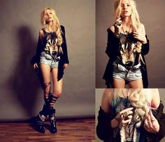 All good things are wild and free ! (by Lina Tesch) http://lookbook.nu/look/2157277-All-good-things-are-wild-and-free