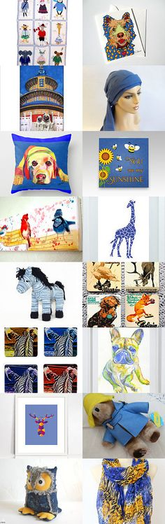 Menagerie by Nancy on Etsy--Pinned with TreasuryPin.com