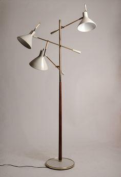 Lightolier 3-arm Floor Lamp