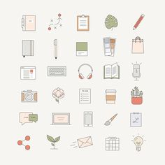 Ladypreneur Icon Pack — Station Seven: Squarespace Templates, WordPress Themes, and Free Resources for Creative Entrepreneurs - Graphic Simple Doodles, Cute Doodles, Inspirational Artwork, Inspirational Funny, Inspirational Thoughts, Mini Drawings, Easy Drawings, Design Stand, Booth Design