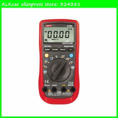 ALKcar volt Amp Ohm Temp tester UT109 Auto Multi-Purpose meter Uni T UT109 Handheld Automotive Digital MultiMeter