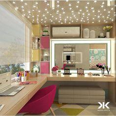 home decor bedroom decor Girl Room, Girls Bedroom, Bedrooms, Home Office Design, Beauty Room, Dream Rooms, Home Decor Bedroom, Diy Bedroom, Bedroom Ideas