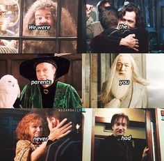 Harry Potter's father and mother figures