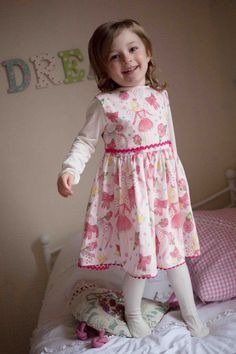 Fairy Ballerina pink illustrated dress by Fanciful by fancifulfoxs, $67.00