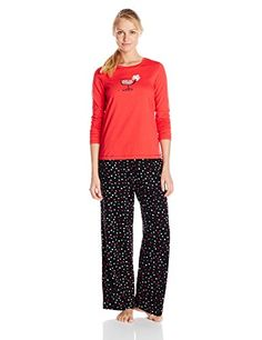 acc38a1483 Hue Sleepwear Women s Bubble Cocktail Pajama Set