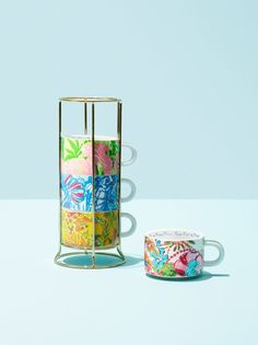 Lilly Pulitzer for Target mugs // See the complete lookbook: (http://www.racked.com/2015/3/26/8294867/lilly-pulitzer-target-clothes-swim?utm_campaign=racked&utm_content=gallery-post&utm_medium=social&utm_source=pinterest)