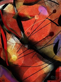 Birthday Greetings Wassily Kandinsky