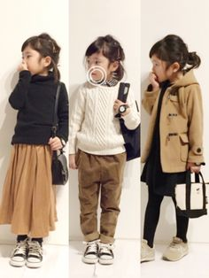 Boy Fashion Style Dress Up Fashion Kids, Little Kid Fashion, Kids Winter Fashion, Baby Girl Fashion, Toddler Fashion, Toddler Outfits, Girl Outfits, White Outfits, Amusement Enfants