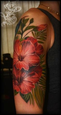 15_12-tattoo-zanda-cover-up-hibiscus-realistic-flowers-tattoo-a.jpg (422×800)
