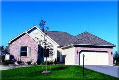Ranch Home Plan: BERKLEY       1,712 Square Feet of Living Area     3 Bedroom     2 Bathrooms