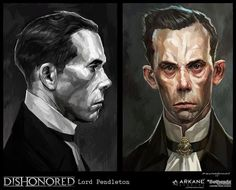 Image result for dishonored concept art