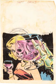 X-Ray Toast. #comic #retro #skeleton