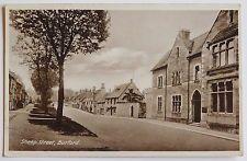 BURFORD, Sheep Street, Oxfordshire - 1930's - Vintage postcard