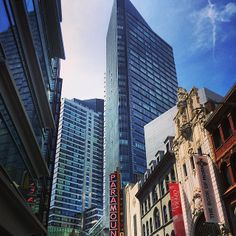 The Paramount Center in Downtown Crossing! #boston www.instagram.com/visitboston
