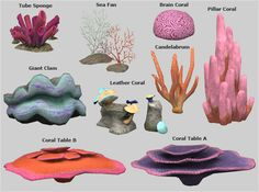 to Coral Reef Veranka Sims 2 Pets, Muebles Sims 4 Cc, Brain Coral, Alien Plants, Singapore Garden, Gardening For Dummies, Sea Plants, Play Sims, Sims 4 Houses