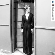"""""""Style is a gift. And these girls have it! #designers #Repost @hilahazanstyle with @repostapp. ・・・ ALONA🔳🔳🔳 @alonatal  האהובה באוברול חדש שלנו…"""" Alona Tal, These Girls, Duster Coat, Instagram Posts, Jackets, Design, Style, Fashion, Down Jackets"""