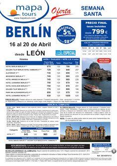Berlín Semana Santa salida León 16 Abril **Precio Final desde 799** ultimo minuto - http://zocotours.com/berlin-semana-santa-salida-leon-16-abril-precio-final-desde-799-ultimo-minuto-6/