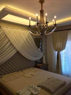 Yatak odası perde modelleri