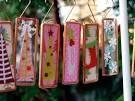 microscope slide ornaments - Google Search