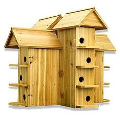 Purple Martin Bird House is amish made with highest care for your purple martins safety and comfort. Purple Martin House Plans, Martin Bird House, Bird House Plans, Bird House Kits, Purple Martin Birdhouse, Bird House Feeder, Bird Feeders, Palomar, Bird Houses Diy