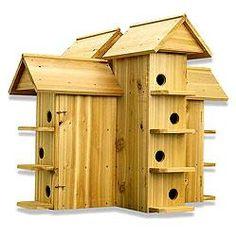 Safe Wooden Purple Martin House